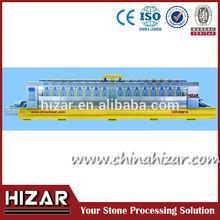 Multi-heads marble and stone rounding grinding polishing machine