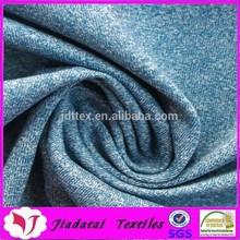 Color mixed nylon polyester sportswear stretch fabrics