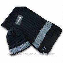 High Quality Pom Pom Cheap Custom beanie hat / knit hat / men knit hat