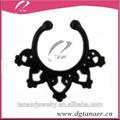 2015 wolesals mode bijoux piercing anneau dans le nez septum indien. l'ethnic septum