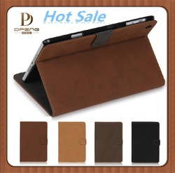 Wholesale Fashion Design Genuine Leather 7 inch Tablet Case for Ipad