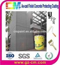 textura de rolo de pintura de proteção de concreto de decoração da parede do edifício revestimento externo