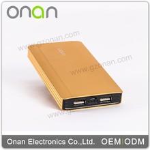 Onan Innovative Product Big Capacity 10000mah New Design Power Bank