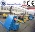 chapa de aço máquina de corte de rolo de aço inoxidável e precisão de nivelamento