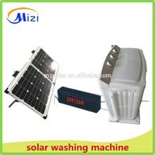 Solar DC 24V power Twin tub washing machine