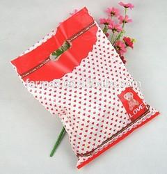 2015 FM custom made plastic die cut shopping bags