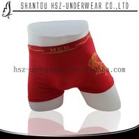 Cheap price men boxer underwear boy underwear boxer shorts seamless boxer sexy rubber latex underwear for men
