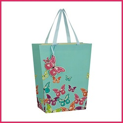 Hot sale 3D craft butterfly gift bag paper