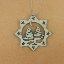 customized laser cut plywood christmas decorations