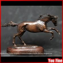 Large Metal Garden Sculpture Antique Bronze Sculpture Life Size Bronze Horse Figurine