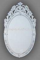 modern design decoraive mirror venetion curved wall mirror