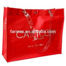 2015 Farmax custom laminated good quality non woven shopping tote bag