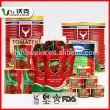 70G*50tin Tomate Paste 28-30% Pasta De Tomate