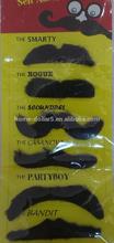 Self adhesive party fake beard moustache