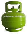 Cilindro de gas vacío ecológico para cocina 3.0kgs