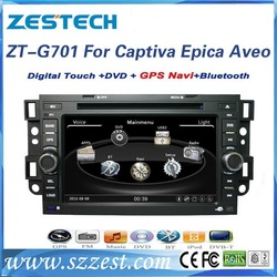 ZESTECH Manufacturer CE certification and 7 inch 2 din car dvd player for Chevrolet Captiva 2006 2007 2008 2009 2010 2011 2012