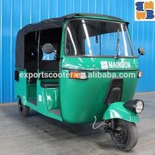 2015 gasoline auto taxi passenger tricycle three wheel bajaj for Bangladesh, India,Afirca market for sale