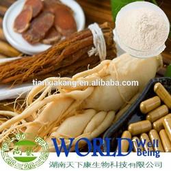 4%-10% Ginsenosides Ginseng Root Extract /5%-80% Ginsenosides Ginseng Extract