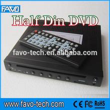 12V Half Din Dvd Car Player with USB/SD