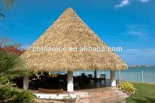 el restaurante turístico tienda de café de techo de paja palapa
