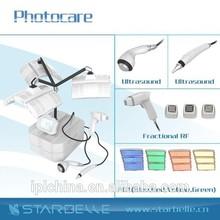 2015 new hot rf skin lifting ultrasonic facial pdt massager - CE