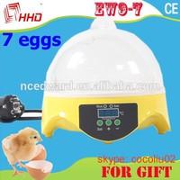 chicken farm equipment/7 eggs incubator/egg hatching machine