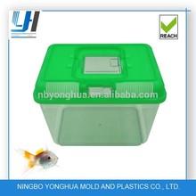 plastic mini aquarium fish tank customed