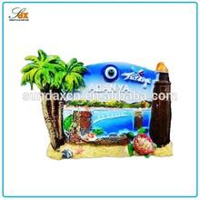 Top quality hot sell 3d Alanya Turkey tourist souvenir fridge magnet