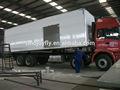 Nuevo diseño de carne / medicina / mariscos / verduras frescas / fruta / de transporte de camiones refrigerados cuerpo con el certificado del CE