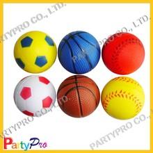 Partypro 2015 New Colorful 4 5 6.3cm DIA Custom Basketball Stress Ball