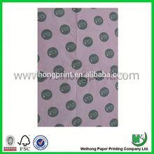 dongguan factory polka dot tissue paper wholesale