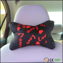 Cheap wholesale plush car headrest cushion