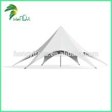 2015 6mx6m oxford cloth material White gazebo/camping/car star tent