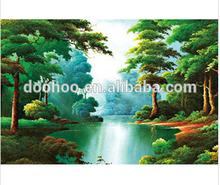 3D lenticular landscape printing poster