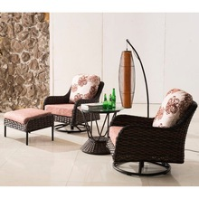 Outdoor Furniture Spring Rattan Bistro Furniture