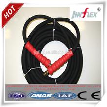black color rubber material high pressure water hose