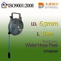 I. D. 6.5mm l 10m dts-6810w küçük boyutlu su hortum makarası kauçuk su hortumu