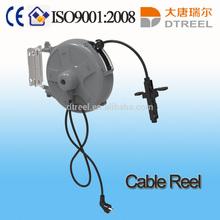 1.5mm2 3pcs L 10m 220V6A socket type DTS-1510E-3 manual cable reel