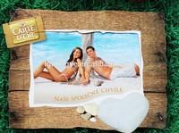 hot sale photo frame fridge magnet with photo insert