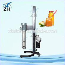 Food grade stainless steel high shear intermittent dispersing emulsifier/mixer/agitator