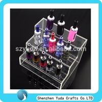 counter acrylic ecig atomizer display, vaporizer ce4 atomizer/clearomizer display for sale