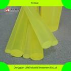 Yellow PU rod,Polyurethane rod,pu bar