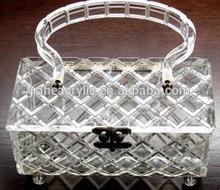 acrylic diamond vintage purse