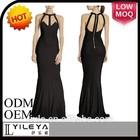 LL068 elegant backless long sexy night dress for women