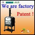 Portátil de madera al aire libre- disparó horno horno de pan de leña estufa con precio de fábrica p-002b