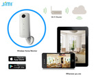 Jimi CCTV Cameras alarm for home wireless network camera P2P Wifi IP Camera With Free UID For Iphone/Ipad/Android