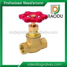 Economic useful brass flow stop valve