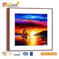 venta caliente hermosa puesta de sol del paisaje pintura al óleo lienzo