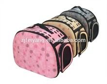 Hot selling Manufacture folding dog pet carrier bag