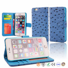 Wholesale cell phone Leather Case For Iphone 6 plus